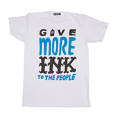 Give More Ink Blue