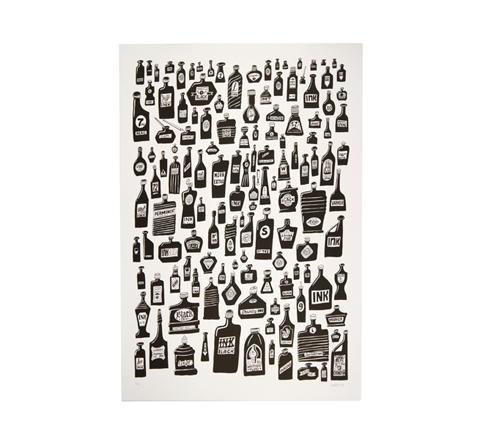 Bottles Artprint