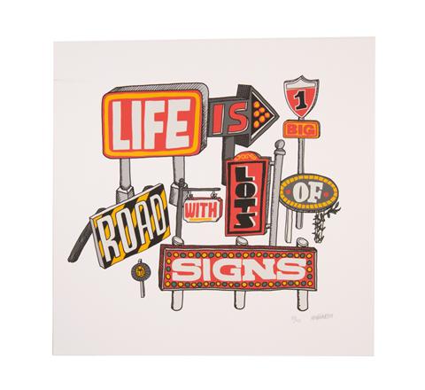 Life is...Artprint