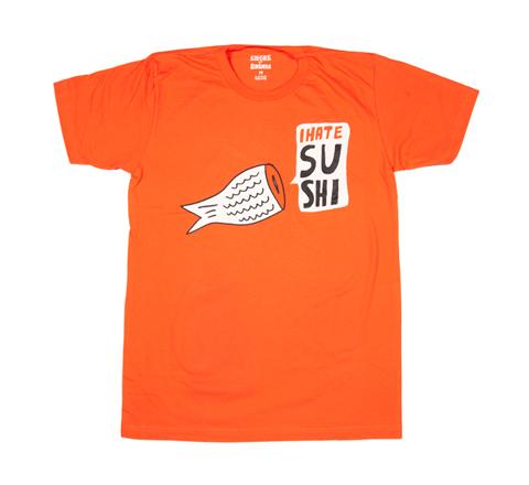 I hate sushi orange